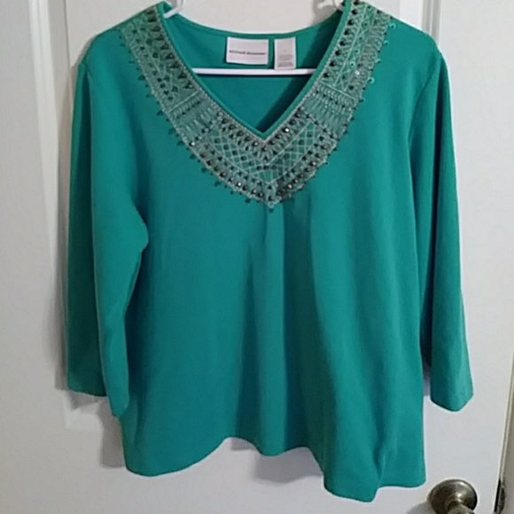 398372f83c243 Alfred Dunner Tops - 🔥🎉SALE🎉🔥Alfred Dunner 3 4 Sleeve
